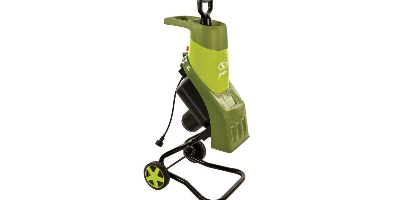 Sun Joe Chipper CJ601E – 14-Amp Electric Wood Chipper/Shredder Review