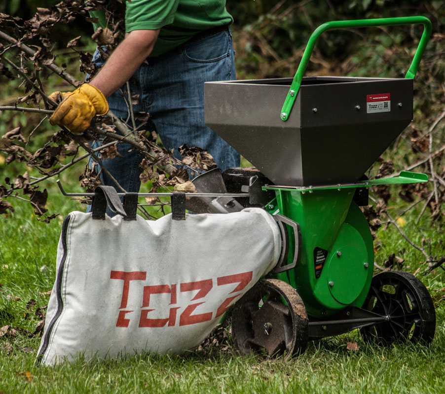 Tazz K33 Chipper Shredder mulching bag