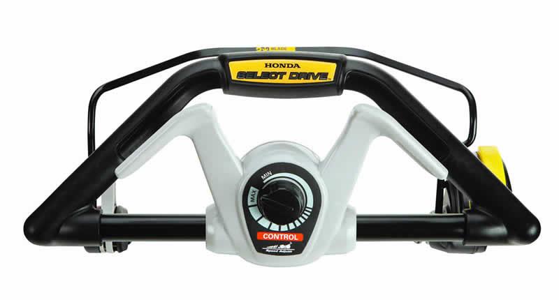 Honda HRX217K5VKA Mower has adjustable speed