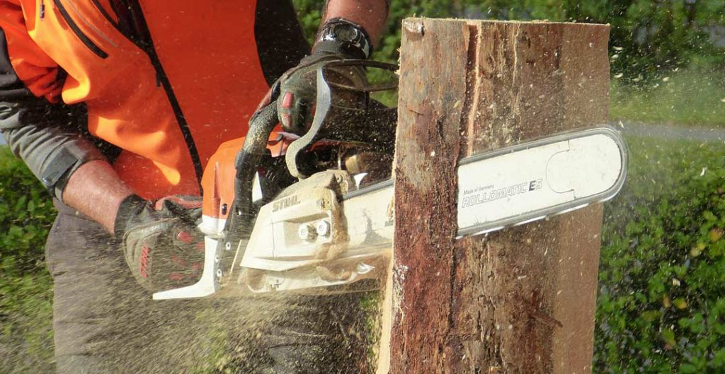 How To Use A Chainsaw to cut woods
