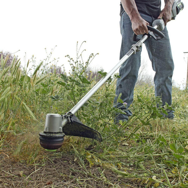 Ego Power String Trimmer The Rolls Royce Of Weed Eaters