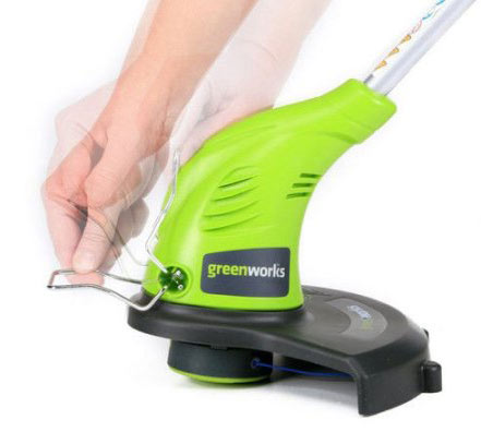 Greenworks 21212 4 Amp 13 Inch Corded String Trimmer head