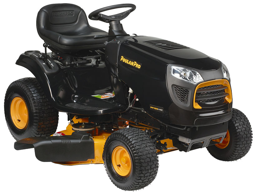 Best Riding Mower - Poulan Pro 42 15.5 HP