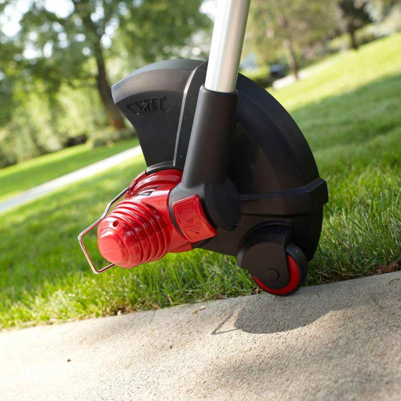 Toro Corded String Trimmer as an edger