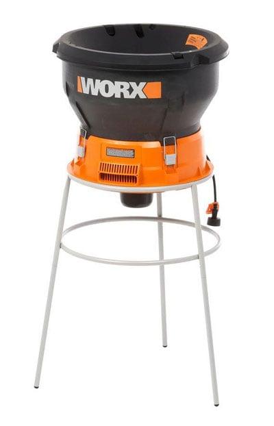 WORX WG430 electric leaf mulcher