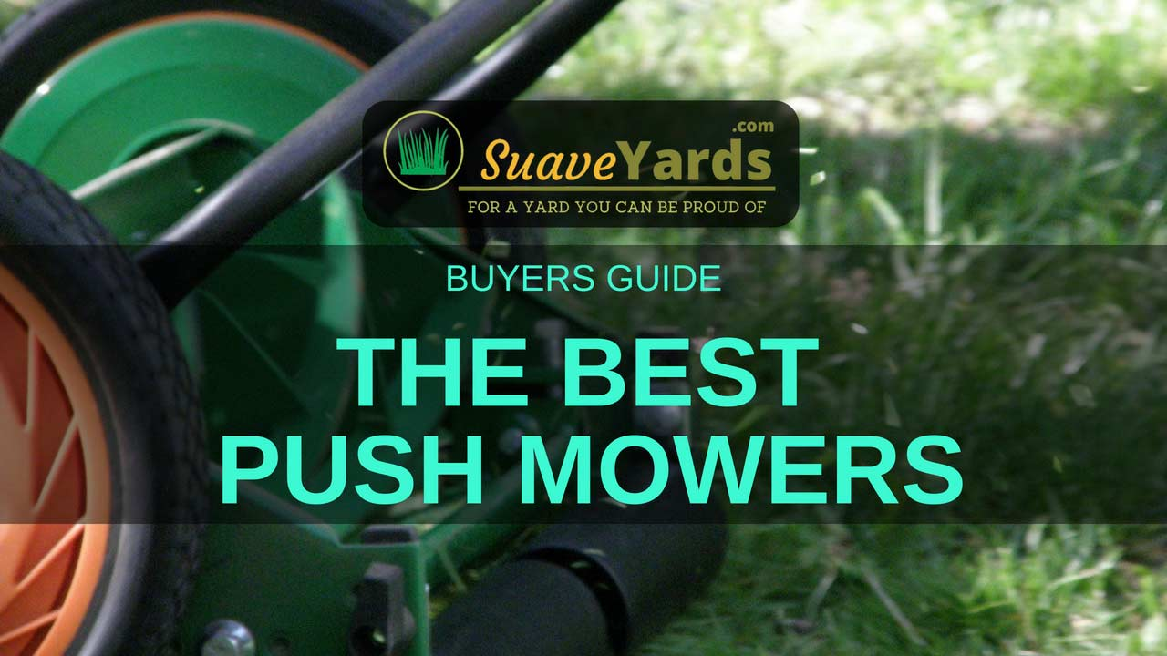 Best Push Lawn Mowers - The ULTIMATE Guide | SuaveYards com