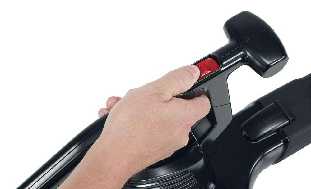 Toro Power Sweep Leaf Blower - on off button