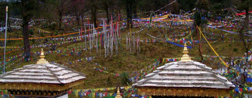 Gardens in Bhutan