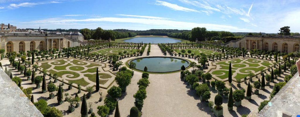 The Palace of Versaille Gardens