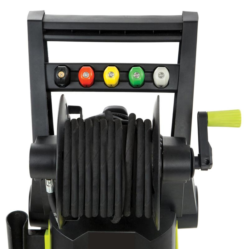 The Sun Joe SPX3001 hose caddy