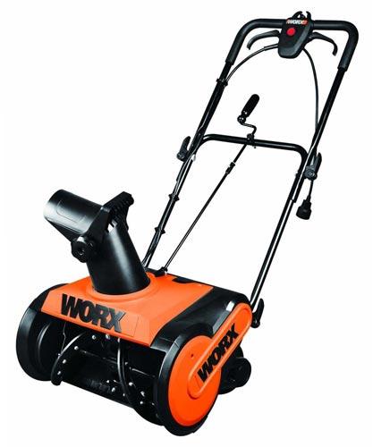 Worx-WG650 snow blower