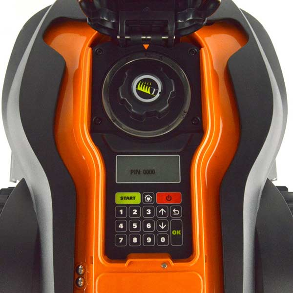 WORX WG794 Landroid control panel