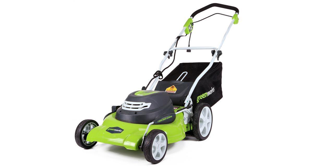 Greenworks 25022 Corded Lawn Mower