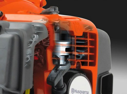 Husqvarna 580BTS Backpack Blower engine