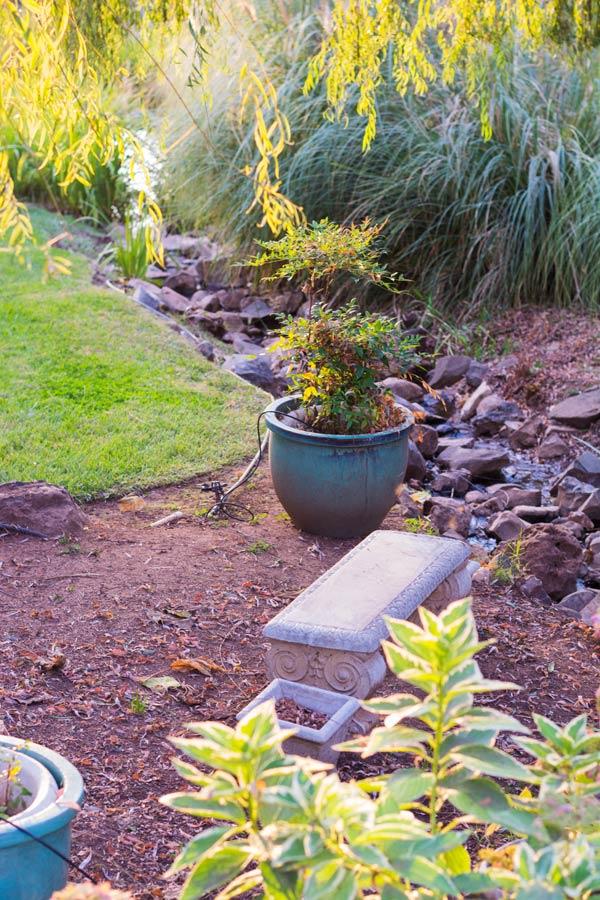 Drk creek landscaping bed