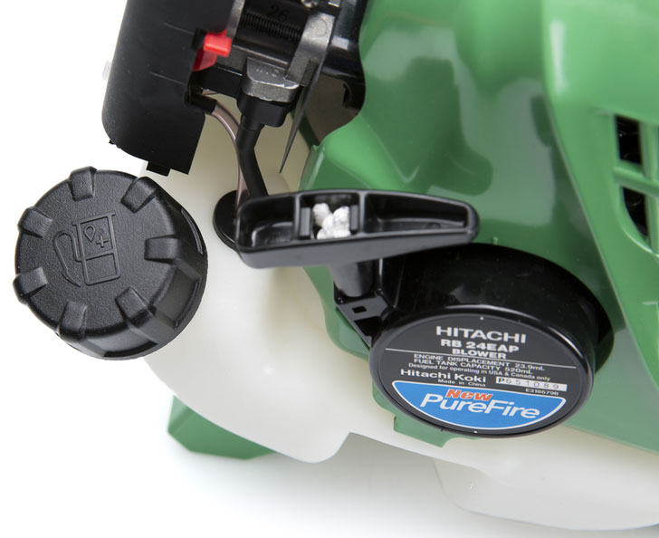Hitachi RB24EAP fuel cap