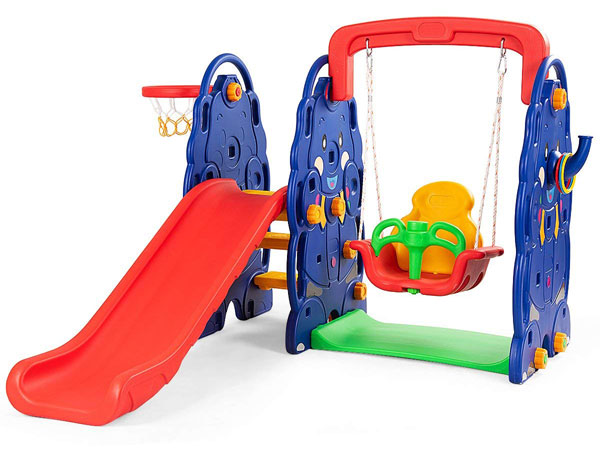 Costzon Toddler Climber and Swing Set