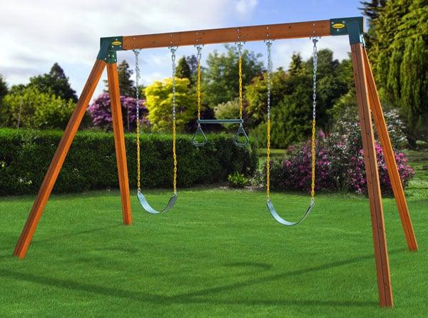Eastern Jungle Gym DIY Swing Set