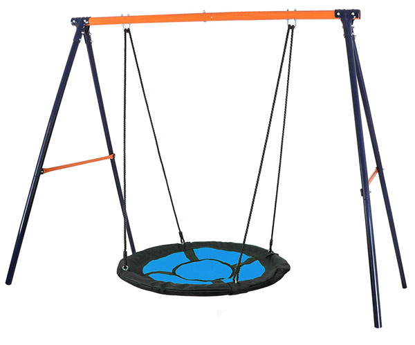 Super Deal Kids Web Tree Saucer Swing