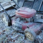 Icy Lawnmower