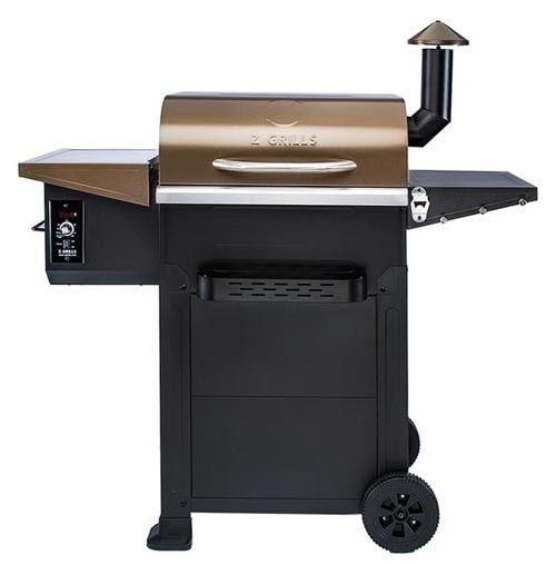 Z-Grills ZPG-6002B pellet grill