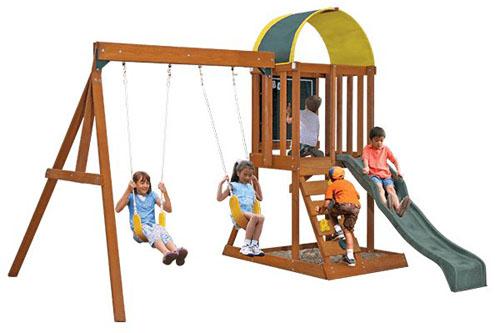 Big Backyard KidKraft Swing Set