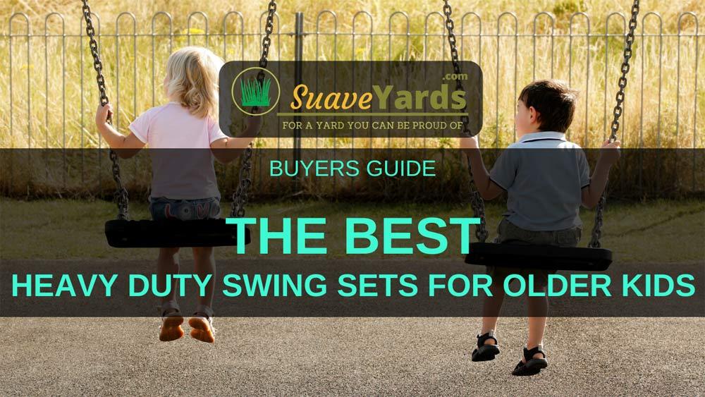 Best Heavy Duty Swing Set