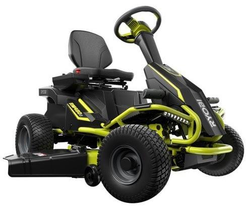 RYOBI 38 in. 75 Ah Battery riding mower