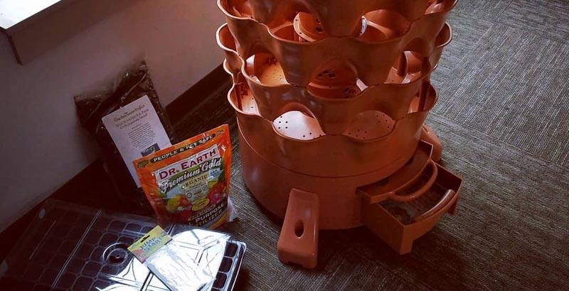 Garden Tower compost tray