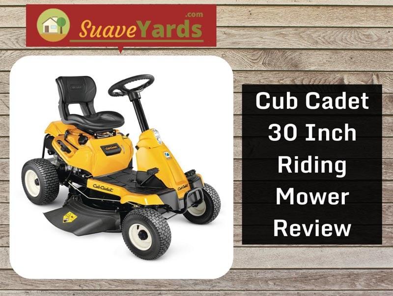 Cub Cadet 30 inch riding mower
