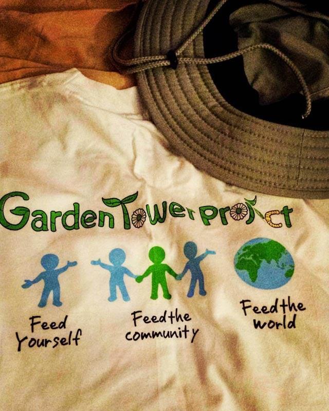 Garden Tower 2 t shirt