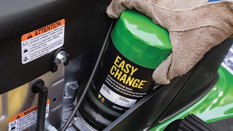 John Deere E120 Easy Change