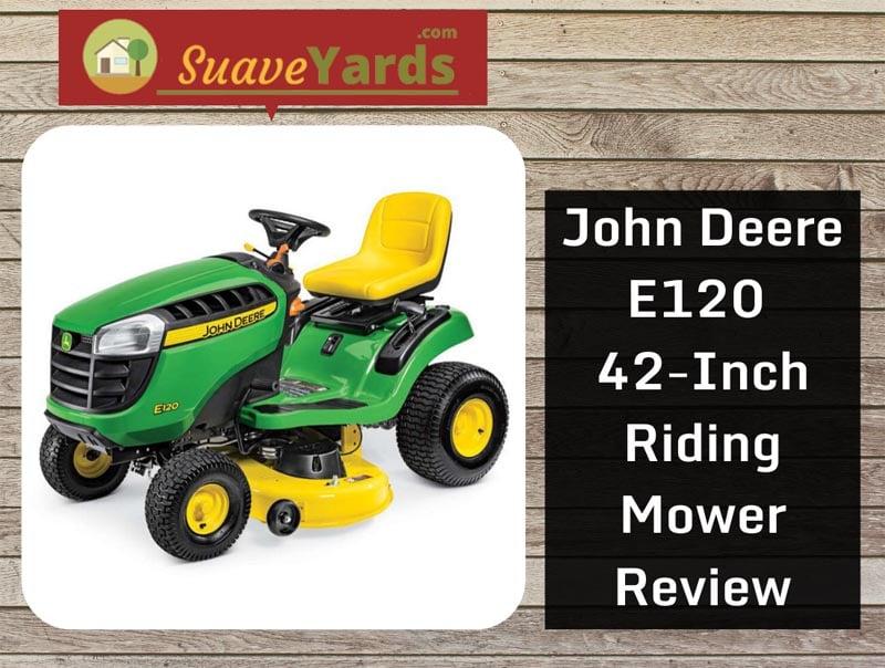John Deere E120 header
