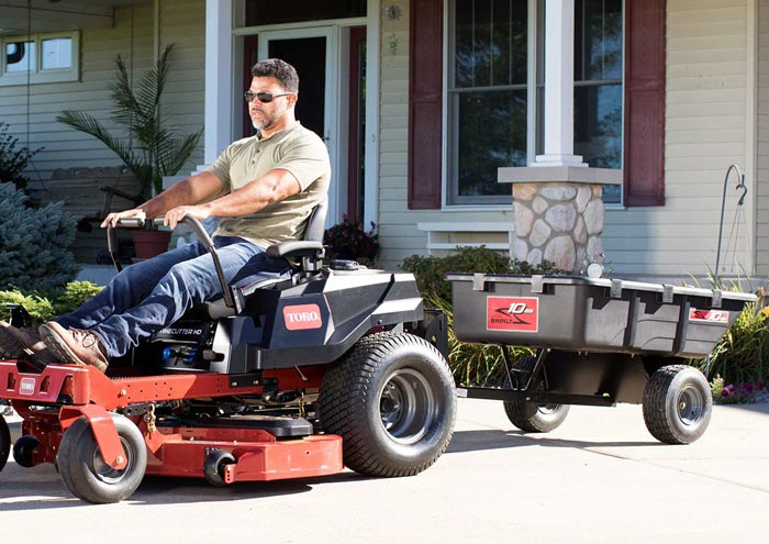 Toro TimeCutter 60-inch with trailer