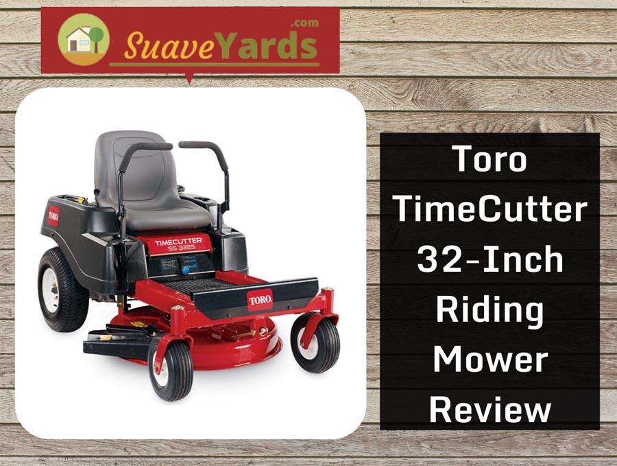 Toro Time Cutter 32 inch square