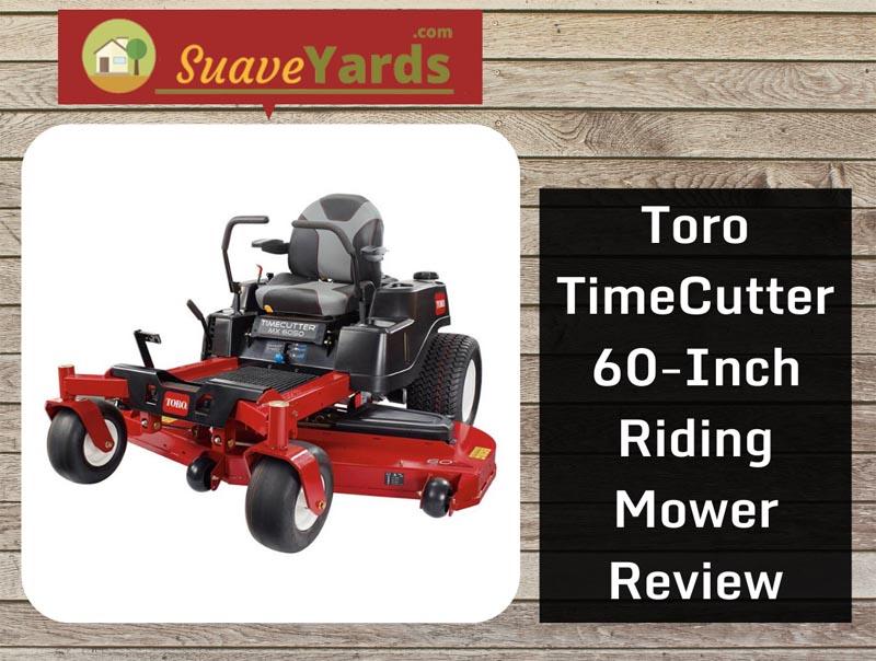 Toro TimeCutter 60-inch