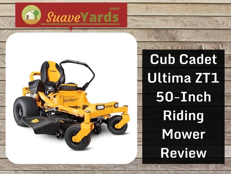 Cub Cadet Ultima ZT1 header