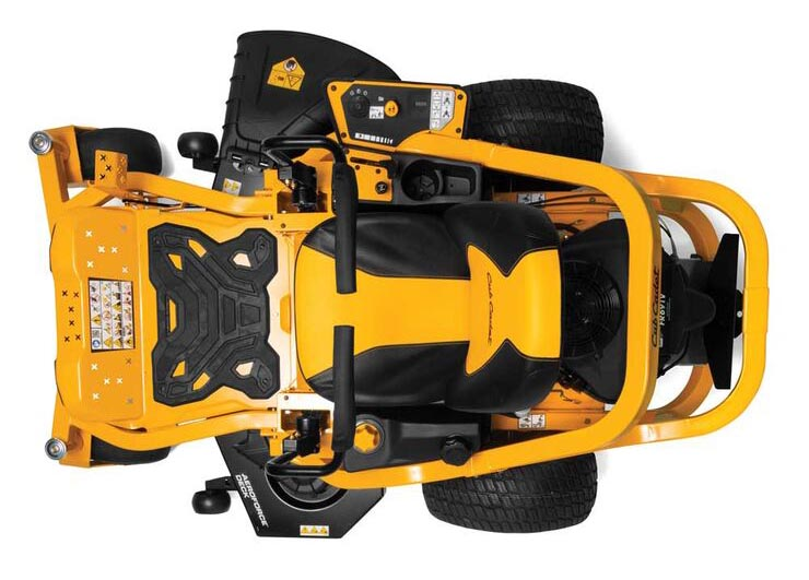 Cub Cadet Ultima ZT1 from above