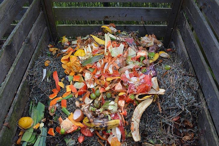 Fruit peel compost
