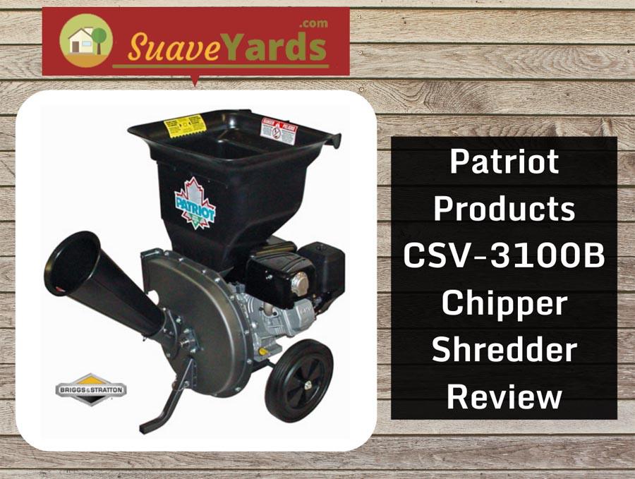 Patriot Products CSV 3100b header