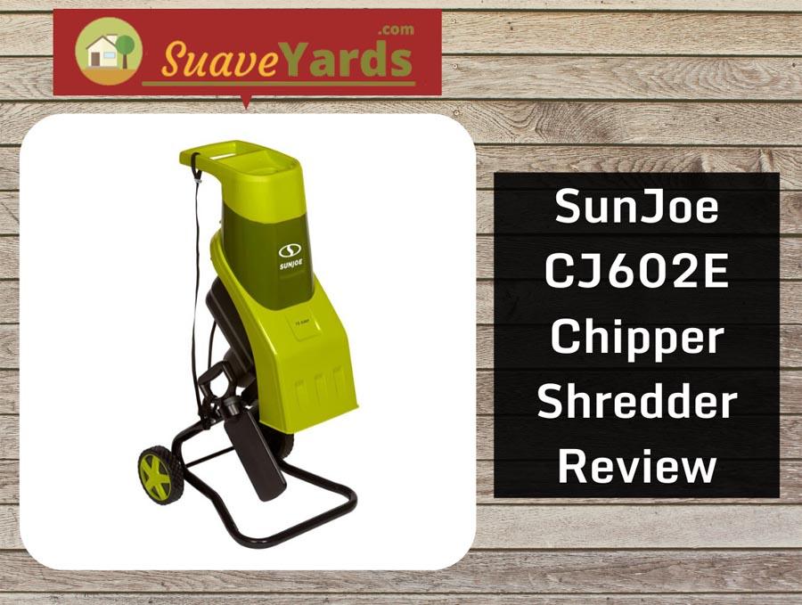 SunJoe CJ602E header