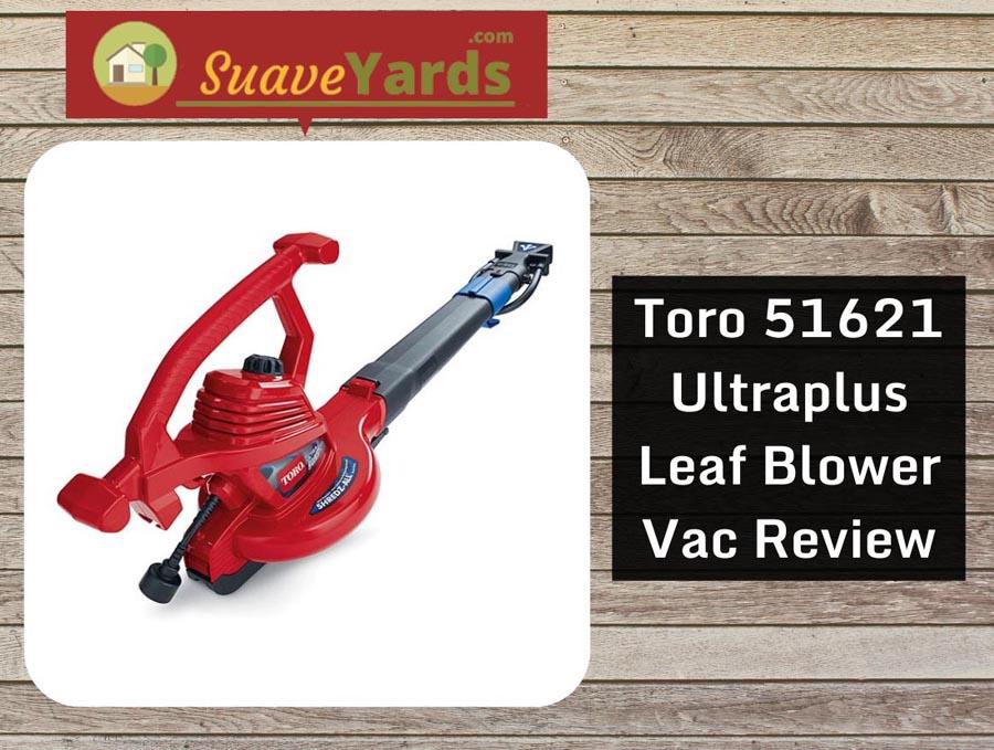 Toro 51621 Ultraplus Leaf Blower Vac header