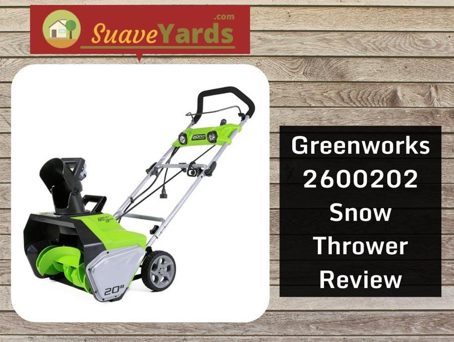Greenworks 2600202 snow thrower header