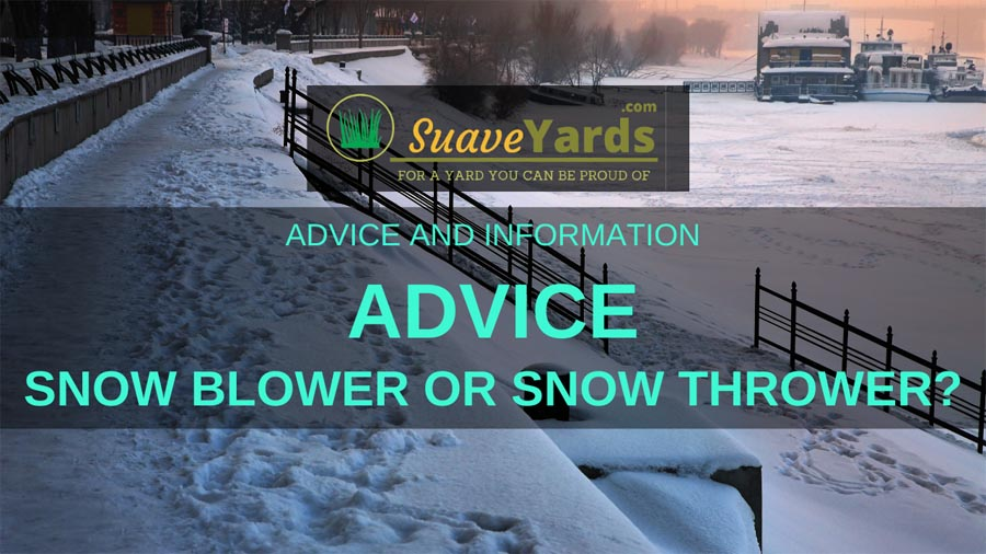 Snow blower or snow thrower header
