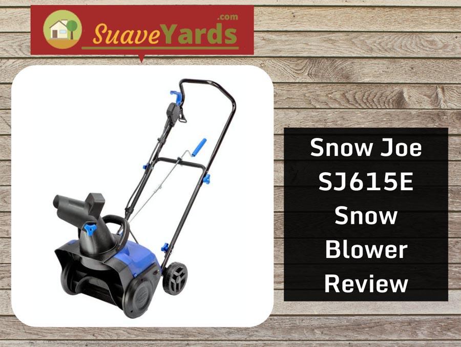 Snow Joe SJ615E header