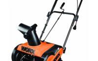 WORX WG650 snow blower