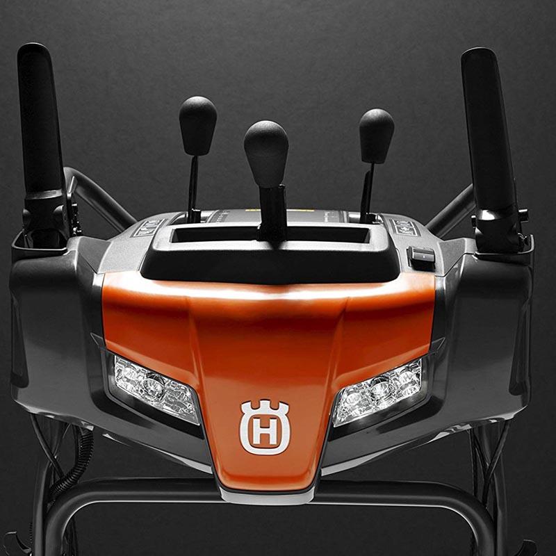 Husqvarna ST224 snow blower controls