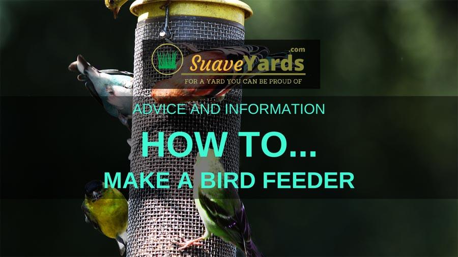 How to make a bird feeder header