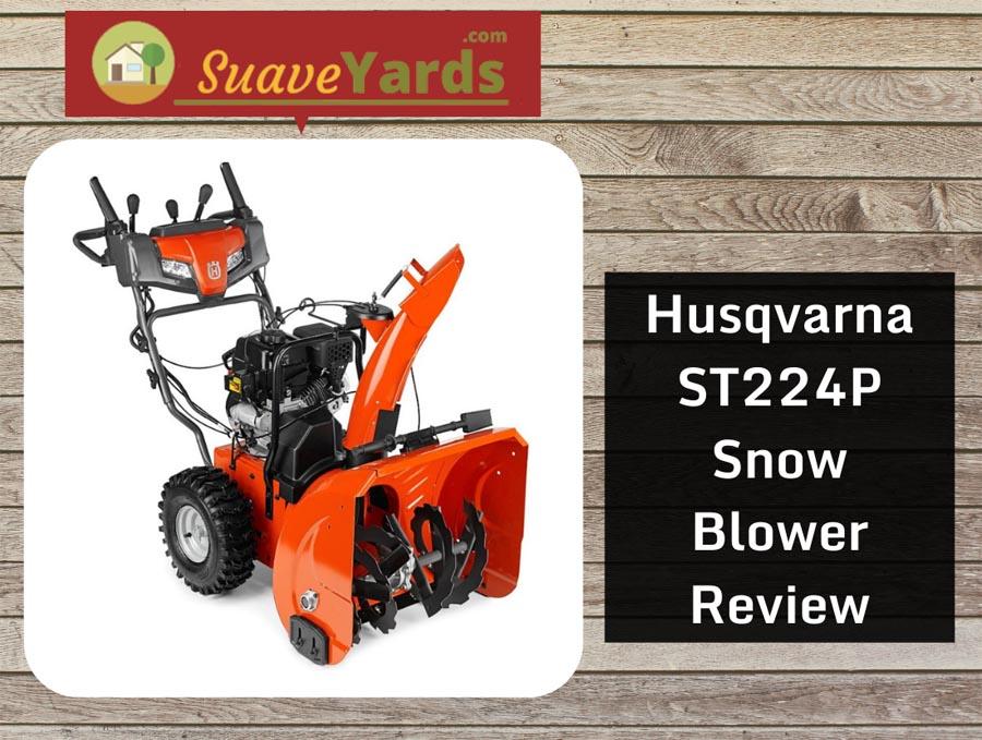 Husqvarna ST224 snow blower header