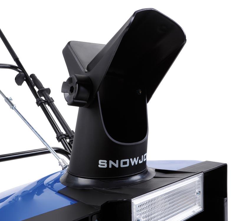 Snow Joe SJ623E Electric Single-Stage Snow Thrower chute